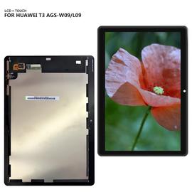 HQ OEM Huawei MediaPad T3 10 AGS-L09 AGS-W09 AGS-L03 T3 Οθόνη LCD Display Screen + Touch Screen DIgitizer Μηχανισμός Αφής Black