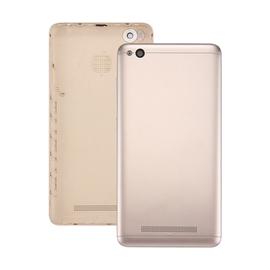 Γνήσιο Original Xiaomi Redmi 4a Back Cover Πίσω Καπάκι Μπαταρίας Gold + Camera Lens