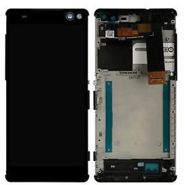 HQ OEM Sony Xperia C5 Ultra / E5506 / E5533 / E5563 / E5553 LCD Display Screen Οθόνη + Touch Screen Digitizer Μηχανισμός Αφής + Frame Πλαίσιο Black