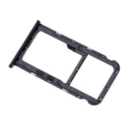 Γνήσιο Original Huawei Mate 10 lite Sim Card Tray Micro SD Tray Θήκη κάρτας Black 51661GMM (Service Pack By Huawei)