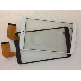 "OEM HQ MLS IQTAB 3G 8"" IQ8123K XCL-S80006A-FPC9.0 Touch screen Digitizer Μηχανισμός Αφής Τζάμι Black​"