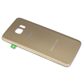 OEM HQ Samsung G935F SM-G935F Galaxy S7 Edge Battery cover Καπάκι Μπαταρίας Gold