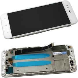 OEM HQ Xiaomi Mi 5X/Mi A1 MiA1 LCD Display Οθόνη + Touch Screen Digitizer Μηχανισμός Αφής + Frame Πλαίσιο White