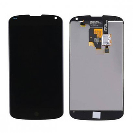 HQ OEM LG Nexus 4 E960 Lcd Display Screen Οθόνη + Touch Screen Digitizer Μηχανισμός Αφής Black​