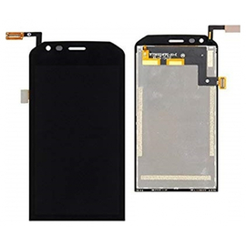 OEM HQ Caterpilar Cat S40 Lcd Display Screen Οθόνη + Touch Screen Digitizer Μηχανισμός Αφής Black (Grade AAA+++)