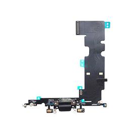 Γνήσια Original Apple Iphone 8 Plus Dock Charger Flex Καλωδιοταινία Κονέκτορα Φόρτισης Black