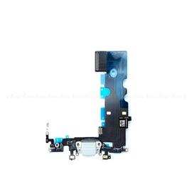 OEM HQ Apple Iphone 8 Plus, Iphone8 Plus Dock Charger Flex Καλωδιοταινία Κονέκτορα Φόρτισης White (Grade AAA+++)