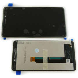 Γνήσιο Original Nokia 6.1 (TA-1043) LCD Display Screen Οθόνη + Touch Screen Digitizer Μηχανισμός Αφής 20PL2BW0001 Black