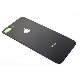 OEM HQ  Apple Iphone 8 Plus Battery Cover Καπάκι Μπαταρίας Black