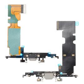 OEM HQ Apple Iphone 8, Iphone8 Dock Charger Flex Καλωδιοταινία Κονέκτορα Φόρτισης Λευκό White (Grade AAA+++)