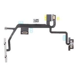 OEM HQ Iphone 8 Καλωδιοταινία Ήχου Πλαϊνά Πλήκτρα Volume Flex Cable + On/Off