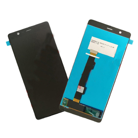 OEM HQ Nokia 5.1  LCD Display Screen Οθόνη + Touch Screen Digitizer Μηχανισμός Αφής Black (Grade AAA+++)