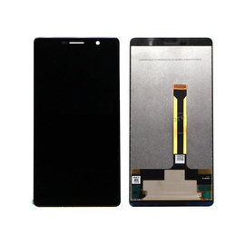 OEM HQ Nokia 7 Plus (TA-1062) LCD Display Screen Οθόνη + Touch Screen Digitizer Μηχανισμός Αφής Black (Grade AAA+++)