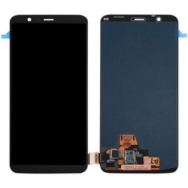 OEM HQ OnePlus 5T Amoled Lcd Screen Display Οθόνη + Touch Screen Digitizer Μηχανισμός Αφής Μαύρο Black (Grade AAA+++)