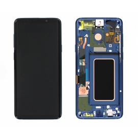 Γνήσια Original Samsung Galaxy S9 Plus SM-G965F G965 Οθόνη LCD Display Screen + Touch Screen DIgitizer Μηχανισμός Αφής + Frame Πλαίσιο Coral Blue GH97-21691D