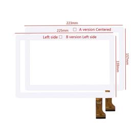 Γνήσιο Original MLS Angel 3G IQ9610  HN 0933-FPC D26XR14 Tablet 9.6'' Touch Screen Digitizer Μηχανισμός Αφής Τζάμι White (Αριστερά Τρύπα Κάμερας 102mm)