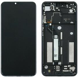 Γνήσιο Original Xiaomi Mi8 Lite, MI 8 Lite LCD Display Οθόνη + Touch Screen Digitizer Μηχανισμός Αφής + Frame Πλαίσιο Black