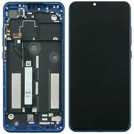 Γνήσιο Original Xiaomi Mi 8 Lite, Mi8 Lite LCD Display Οθόνη + Touch Screen Digitizer Μηχανισμός Αφής + Frame Πλαίσιο Blue