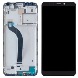 Γνήσιο Original Xiaomi Redmi 5 Οθόνη LCD Display Screen + Touch Screen Digitizer Μηχανισμός Οθόνης Αφής + Frame Bezel Πλαίσιο Πρόσοψη Black