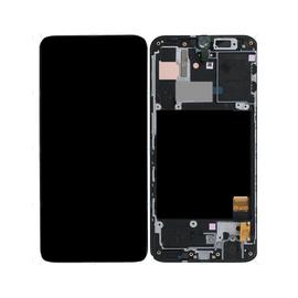 Γνήσια Original Samsung Galaxy A40 2019 (SM-A405F) Οθόνη LCD Display Screen + Touch Screen DIgitizer Μηχανισμός Αφής GH82-19672A Black