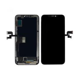 OEM HQ Apple Iphone Xs, IphoneXs (A2097, A1920, A2100, A2098) Οθόνη Oled Soft LCD Display Screen + Touch Screen Digitizer Μηχανισμός Οθόνης Αφής Black Μαύρο (Grade AAA+++)