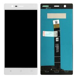 OEM HQ Nokia 3 (TA-1020) Dual Sim (TA-1032) LCD Display Screen Οθόνη + Touch Screen Digitizer Μηχανισμός Αφής White (Grade AAA+++)