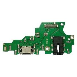 OEM HQ Huawei Honor Play COR-AL00 SUB BOARD Micro Usb Dock Charge Connector flex Καλωδιοταινία φόρτισης + Microphone Μικρόφωνο+ Headphones Jack Θύρα Ακουστικών