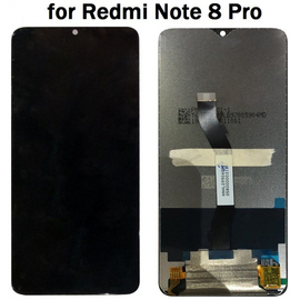 HQ OEM Xiaomi Redmi Note 8 Pro Lcd Screen Display Οθόνη + Touch Screen Digitizer Μηχανισμός Αφής Black Μαύρο (Grade AAA+++)