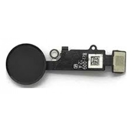 iPhone 8/8 Plus Κεντρικό Κουμπί Home Button + Flex Cable Black