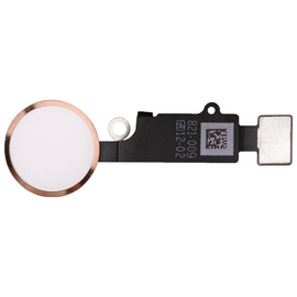 iPhone 8/8 Plus Κεντρικό Κουμπί Home Button + Flex Cable Rose Gold