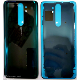 HQ OEM Xiaomi Redmi Note 8 Pro Back Rear Battery Cover Καπάκι Κάλυμμα Μπαταρίας Forest Green