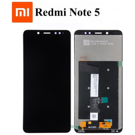 HQ OEM Xiaomi Redmi Note 5, Note 5 Pro Lcd Screen Display Οθόνη + Touch Screen Digitizer Μηχανισμός Αφής Black (Grade AAA+++)