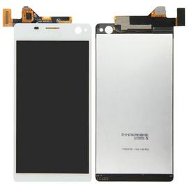 HQ OEM Sony Xperia C4 E5303 E5306 E5333 E5343 E5353 E5363 Οθόνη LCD Display Screen + Touch Screen Digitizer Μηχανισμός Αφής White
