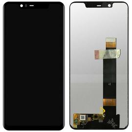 OEM HQ Nokia 5.1 Plus,  Nokia X5 (TA-1120, TA-1105, TA-1102) LCD Display Screen Οθόνη + Touch Screen Digitizer Μηχανισμός Αφής Black (Grade AAA+++)