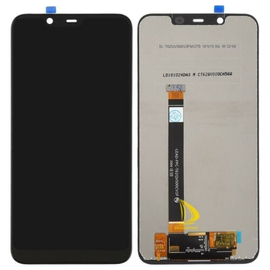 OEM HQ Nokia 7.1 Plus, 8.1, X7 (TA-1099, TA-1113, TA-1115, TA-1131, TA-1119, TA-1121) LCD Display Screen Οθόνη + Touch Screen Digitizer Μηχανισμός Αφής Black (Grade AAA+++)