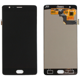 OEM HQ OnePlus 3, Oneplus 3T AMOLED Lcd Screen Display Οθόνη + Touch Screen Digitizer Μηχανισμός Αφής Black (Grade AAA+++)