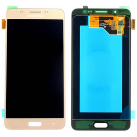 Γνήσια Original Samsung J510 Galaxy J5 2016 Οθόνη LCD display + Touch Screen Μηχανισμός Αφής Gold GH97-18792A